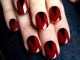 Red Nail Art Designs Red Nail Art Design Simple Nail Design Ideas ...