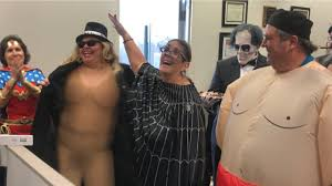 Broward Schools official wore naked woman Halloween costume ...