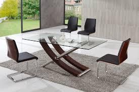 Modern Glass Dining Table Modern Glass Dining Table B Nongzico