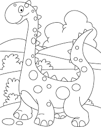 Small Picture Simple Dinosaur Coloring Page GetColoringPagescom