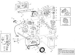 sears craftsman air compressor parts air compressor parts schematic click to enlarge close slide to zoom image