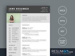 Stamatia Clean Professional Resume Template Resumgocom