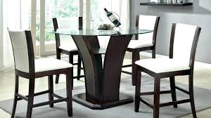 cherry pub table and chairs wood set marvellous solid sets gallery best image engine furniture inspiring round with white