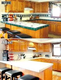 how to redo countertops without replacing diy replacing laminate countertops