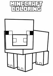 Kleurplaat Lego Minecraft