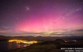 Australis Southern Lights Southern Lights Aurora Australis Mackenzie Region