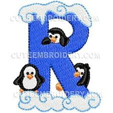 Free Embroidery Design Letter R Freedesigns Com