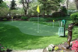 Artificial turf backyard Bermuda Grass Putting Greens Golf Premier Artificial Grass Supplier Synthetic Turf International