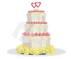 Wedding Cake Vector Clip Art 00285 Poweredtemplatecom