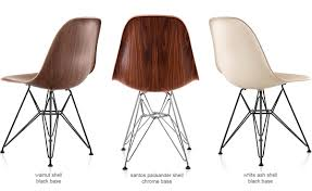eames molded chair. Eames® Molded Wood Side Chair With Wire Base Eames