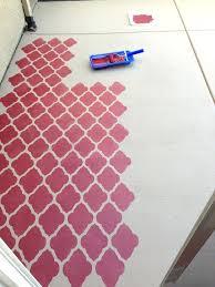 outdoor concrete paint innovative outdoor floor painting