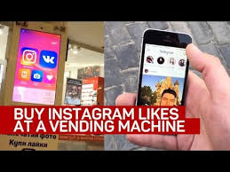Vending Machine That Buys Phones Extraordinary Buy Instagram Likes At A Vending Machine YouTube