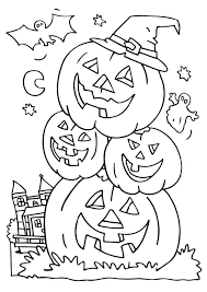 Hard Halloween Coloring Pages Printables Coloring Pages Free