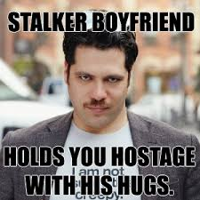 Fifty Shades of Grey Chapter 23 – Stalker boyfriend always knows ... via Relatably.com