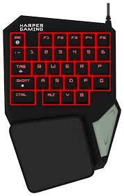 <b>Клавиатура HARPER Gaming</b> GKB-95 Black USB — купить по ...