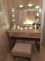dressing table lighting. Bedroom Mirror With Lights Ikea Dressing Table Light Up Makeup Tags Decor Images About On Collection Lighting K