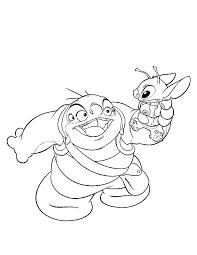Lilo En Stitch Vind En Print Bliksemsnel Een Kleurplaat Ukkonl