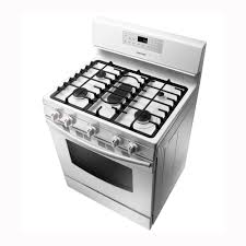 Pc Richards Kitchen Appliances Samsung 30 Free Standing Gas Range White Pcrichardcom