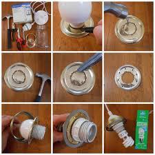 32 diy mason jar lighting ideas diy joy how to make a light from a how