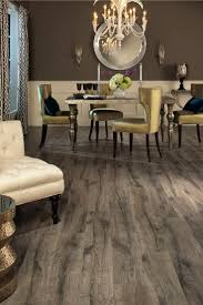 Engineered Wood Flooring Type Match Your Home: Round Wall Mirror With  Rustic Engineered Wood Flooring