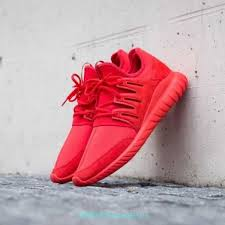 Radial Red 2019 New Mens Adidas Tubular Radial Red Red Core Black