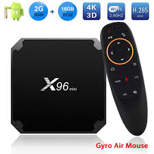 X96 mini Android TV Box 7.1 2GB 16GB Amlogic S905W X96Mini IPTV  Subscription 7000+ Channels 12000+ VOD M3U Code 4K Smart TV Box » MicroFlow™
