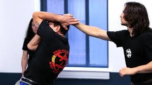 How to Defend against <b>Back</b> Hair <b>Pull</b> | Krav Maga Defense - YouTube