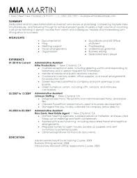Sample Resume For Administrative Assistant Best of Resume Format For Administrative Assistant Physician Assistant