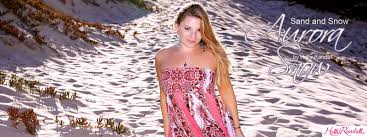 Aurora Snow in Sand and Snow