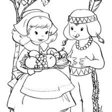 Small Picture Thanksgiving Indian Coloring Page Archives Mente Beta Most