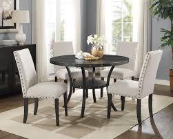 Indira 5 Piece Dining Set Table 4 Chairs Beige Walmartcom