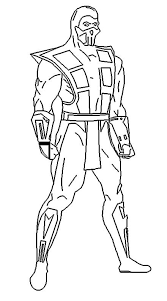 Small Picture Mortal kombat coloring pages sub zero ColoringStar