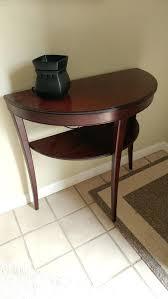 antique half round hall table glass ikea