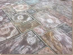 milky sealant on indian sandstone