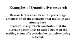 quantitative research 40 examples of quantitative research research that consists