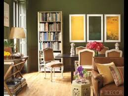 olive green bedroom accent wall you