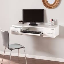 Harper Blvd Shaw White Wall Mount Desk - Free Shipping Today -  Overstock.com - 18723234