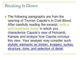 ap language exams prompts and hints ppt video online  11 breaking