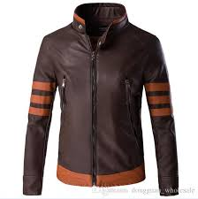 men wolverines james logan howlett costume pu jacket men motorcycle leather jackets winter jaqueta the black friday coat 5xl 2018 coats for mens style