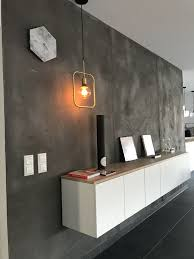 Betonoptik Wand Mit Ikea Method Deckplatte In Eiche In
