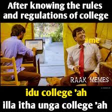 first year college student tamil meme tamil memes trolls first year college student