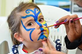 erfly face painting designs for kids blue erfly face painting