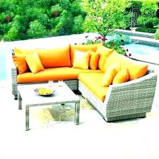 portofino outdoor furniture comfort 7 piece seating set in blue at patio deep replacement cushions covers