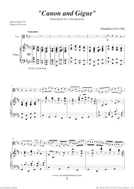 pachelbel canon violin sheet music pachelbel canon in d sheet music for viola and piano