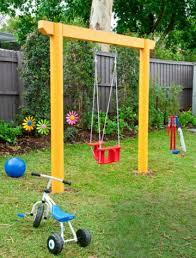 outdoor baby swing frame cute efccceabebdef