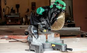 hitachi 10 sliding miter saw. compound miter saw. hitachi c12rsh feature 10 sliding saw e