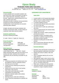 How To Make Your Own Cv | deam123ddnscom How To Make Your Own Cv ... A simple media sales resume example that