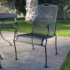 Design Wrought Iron Rocking Patio Furniture Briarwood Casual