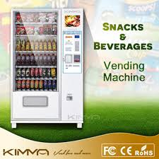 Snack Vending Machines With Card Reader Cool China LCD Screen Snacks Vending Machine Card Reader Config Available