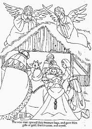 Small Picture Coloring Pages Baby Manger Scene Coloring Pages